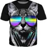 חולצה עם חתול